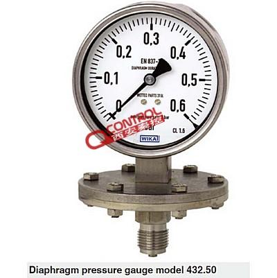 隔膜压力表威卡432.50 wik