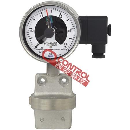WIKA电接点差压表DPGS43.10