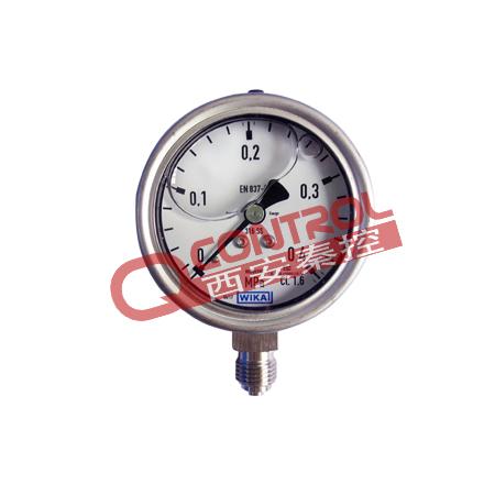 233.50.100德国WIKA径向全不锈钢充液耐震压力表.